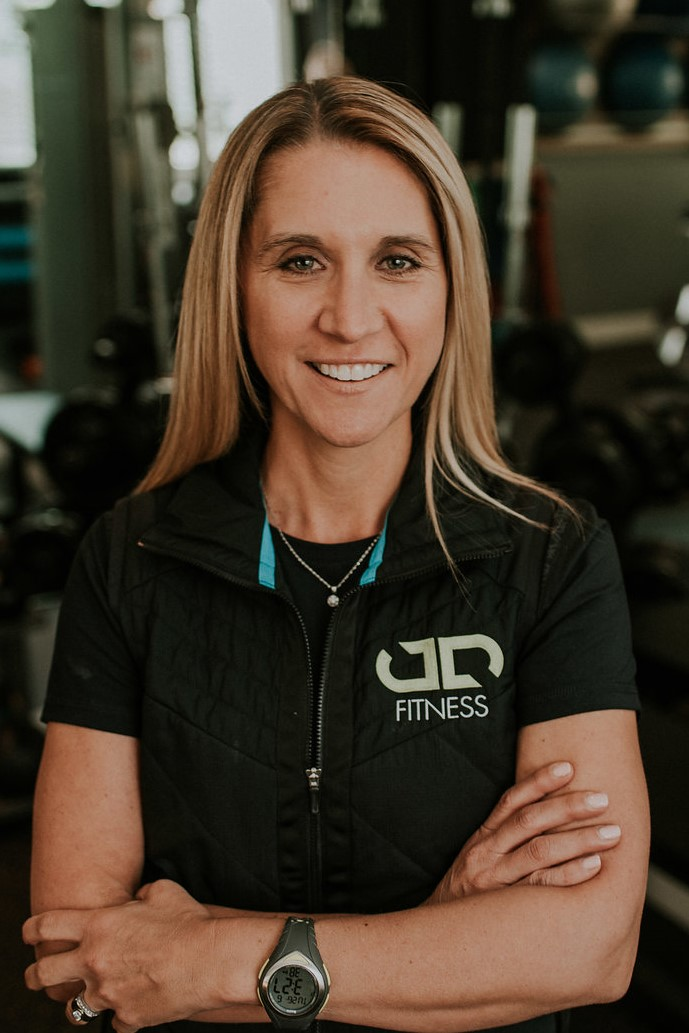 This is a picture of Judy Jones (Dueck), Owner of JD Fitness